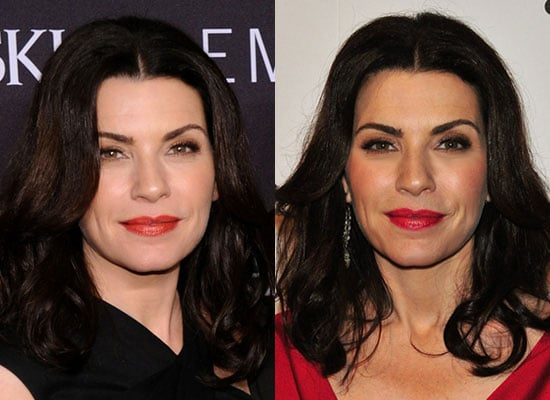 Julianna Margulies Wears Both Warm and Cool Red Lipstick