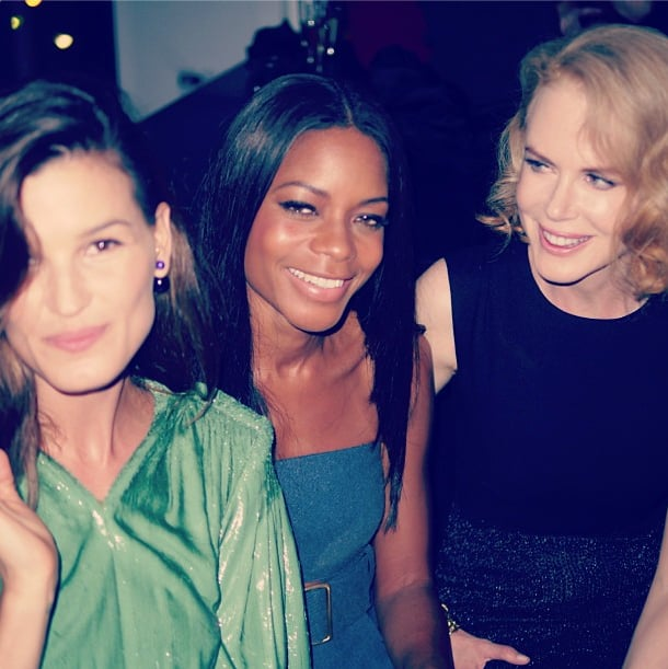 Hanneli Mustaparta was among beauty with Naomie Harris and Nicole Kidman at the Calvin Klein Collection party. Source: Instagram user hannelim