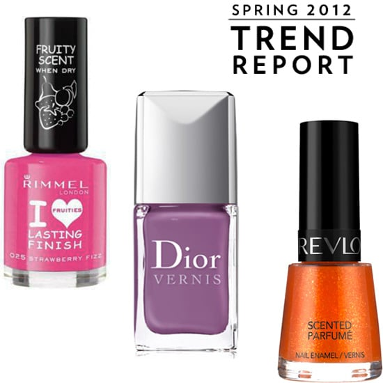 Scented Nail Polish from Dior, Revlon and Rimmel