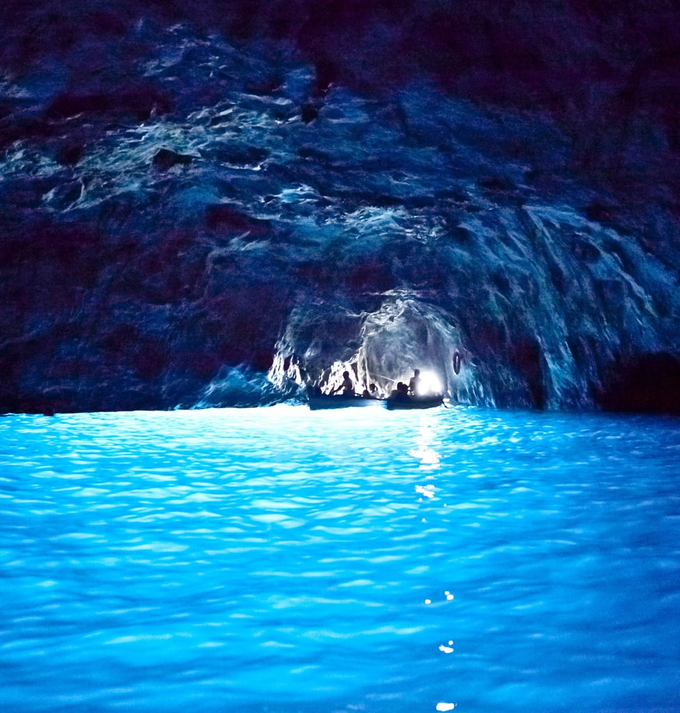 Swim in the Blue Grotto in Capri