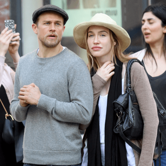Charlie Hunnam Out in NYC With His Girlfriend April 2016