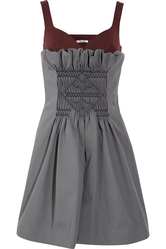 After spotting this Miu Miu dress ($470, originally $2,350) on a gaggle of starlets, we fell in love. Now you can own it yourself!