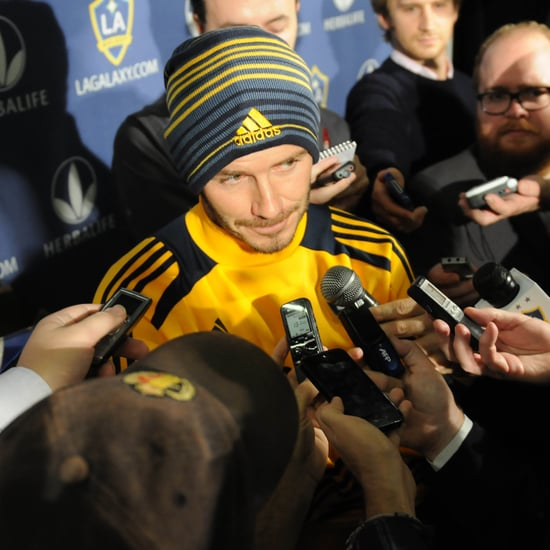 David Beckham Announces He's Leaving LA Galaxy | Pictures