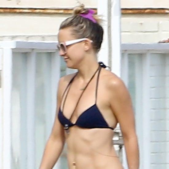Kate Hudson in a Bikini in Malibu, CA