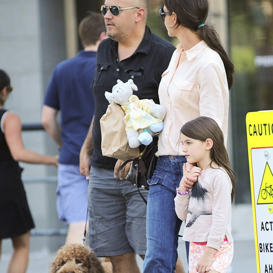 Katie Holmes and Suri Cruise's New Dog | Pictures