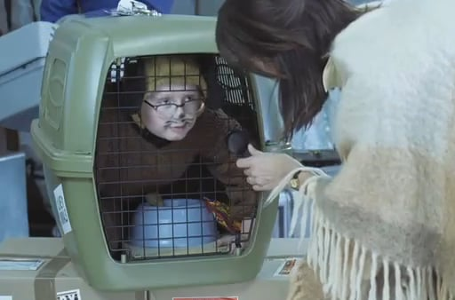 Boost Mobile Puts Kid in a Cage For Ad Campaign