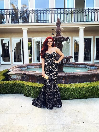 Ariel Winter's Senior Prom Dress Proves She Has a Prom Style Uniform