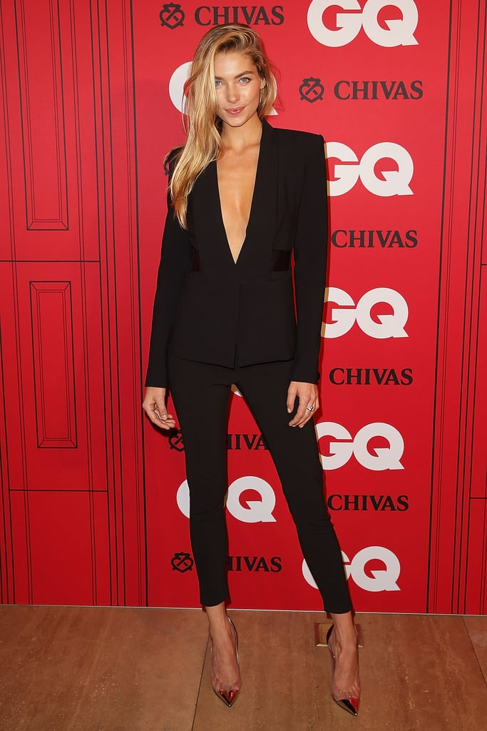 We can't fault Jessica Hart's Dion Lee suit. With a plunging neckline, perfect fit, and cropped trousers, we're totally in love.