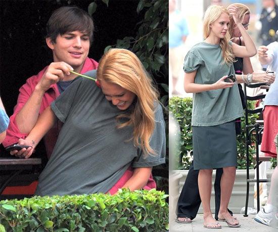 Photos of Jessica Alba and Ashton in LA