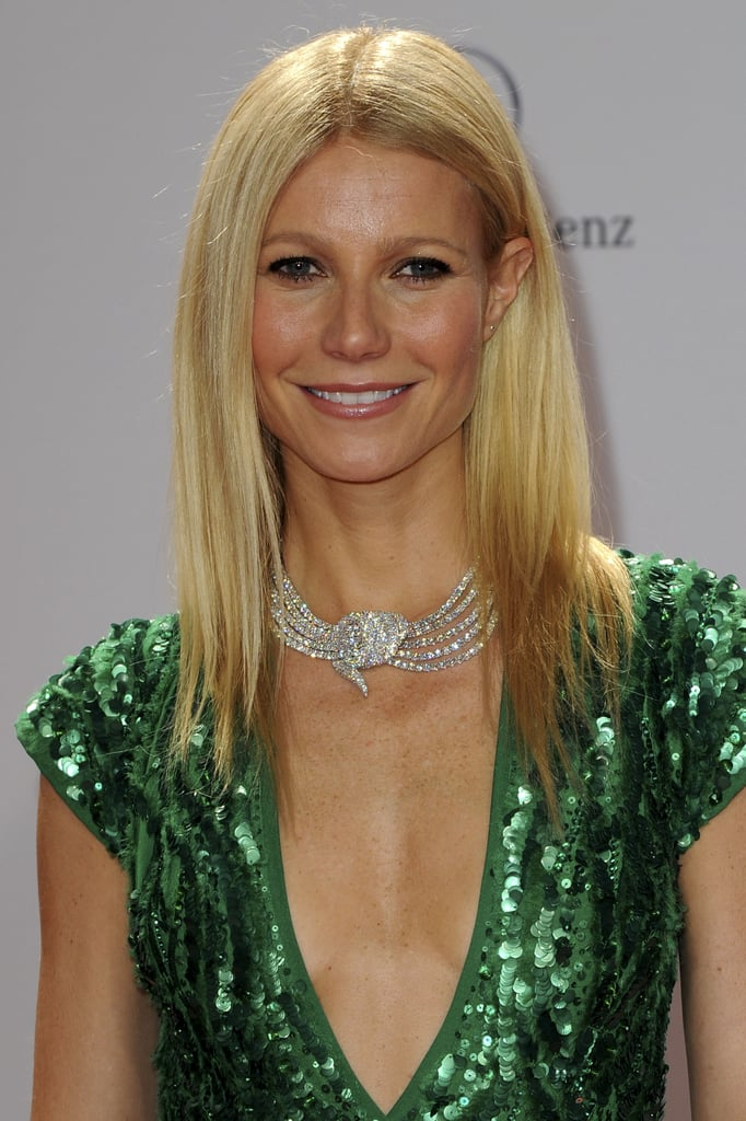 Gwyneth Paltrow on the red carpet at the 2011 Bambi Awards.