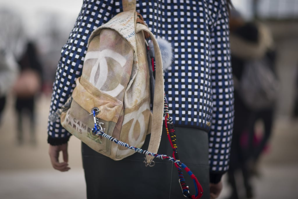 All the cool kids carry Chanel backpacks.