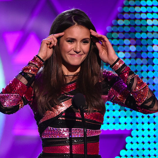 Nina Dobrev Poked Fun at Leaving The Vampire Diaries — With Fangs