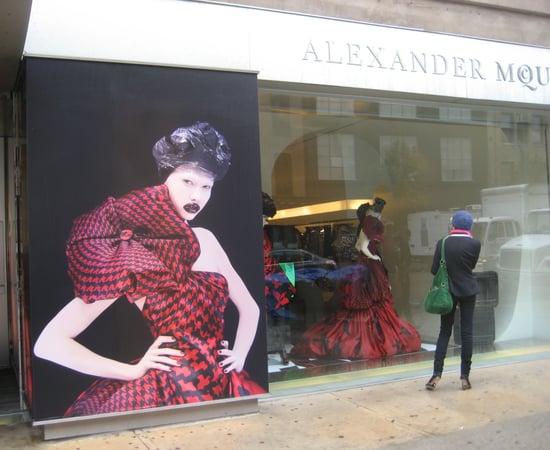 Fashion Week Quickie: McQueen's Wow Window