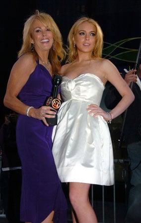 Dina Still Clinging to Lindsay's Fame