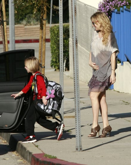 Pictures of Kate Hudson Baby Bump With Ryder