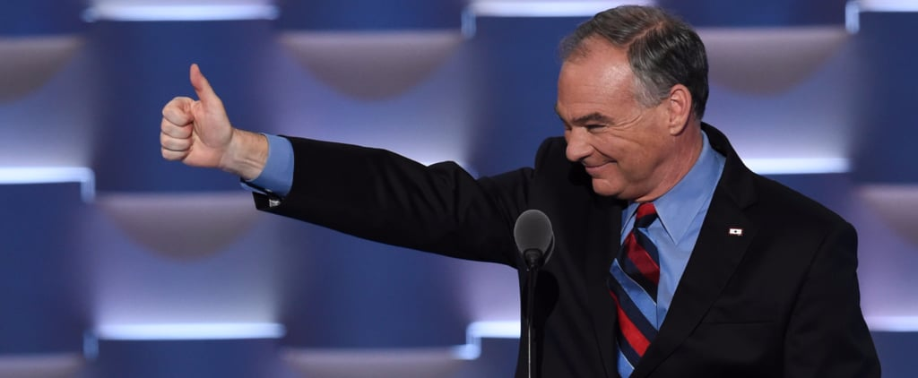 Tim Kaine Nailed a Hilarious Donald Impersonation and People Lost It