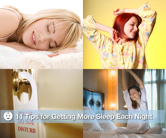 Get a Better Night's Sleep Tips