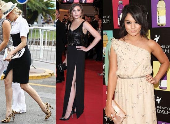 Pictures of Celebrities at the 2011 Cannes Film Festival including Vanessa Hudgens, Diane Kruger, Elizabeth Olsen and Johny Depp