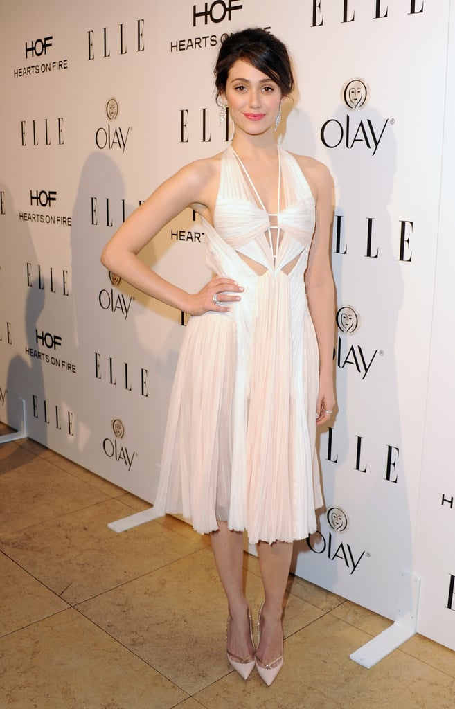 Emmy Rossum at the Elle Women in Television Celebration
