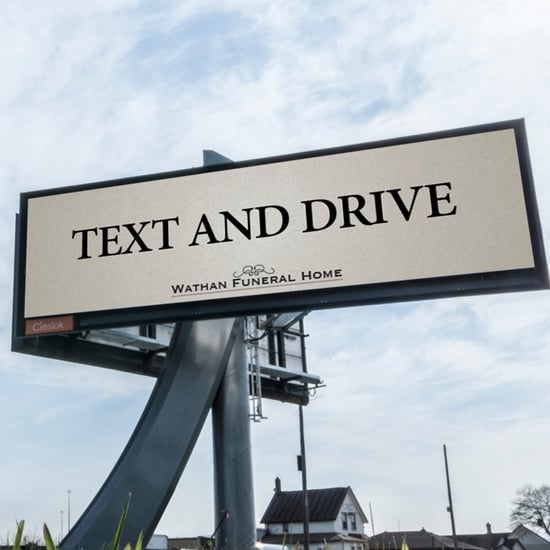 Text and Drive Ad
