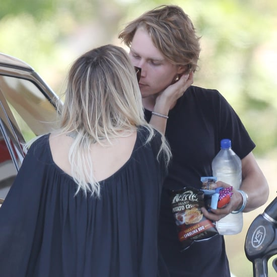 Kaley Cuoco Kissing Her Boyfriend in LA May 2016