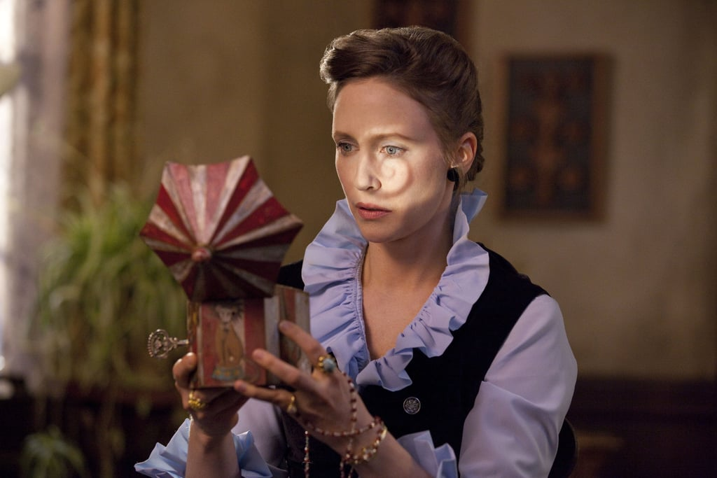 The Conjuring  Who's starring: Vera Farmiga and Patrick Wilson Why we're interested: Horror films are all the more horrifying when they have roots in reality, and this eerie movie is based on the true story of married paranormal investigators Ed and Lorraine Warren. When it opens: July 19 Watch the trailer for The Conjuring.