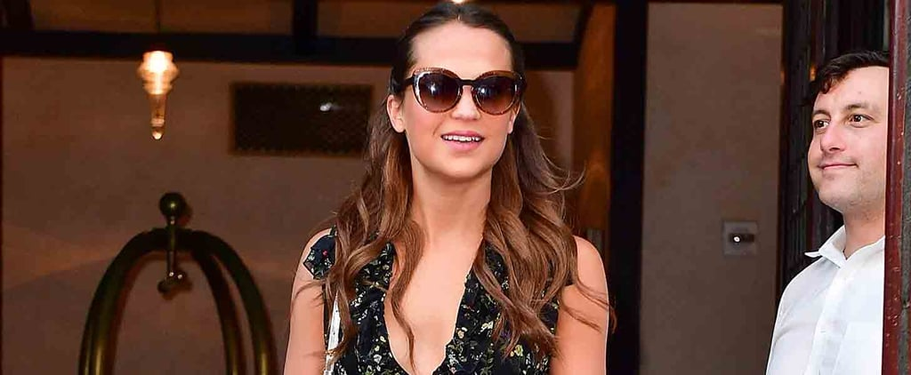 Thanks to Alicia Vikander, This Sexy Old Dress Trend Is Born Again