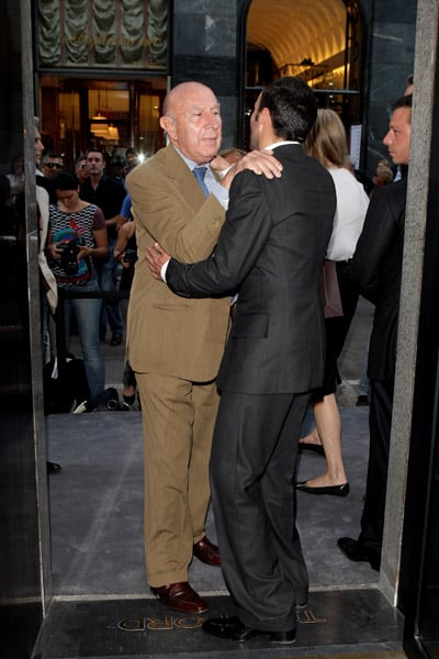 Milan Fashion Week founder Beppe Modenese, Tom Ford