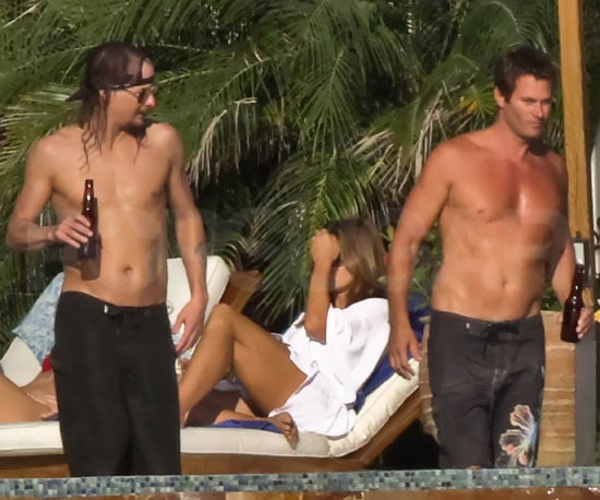 Slide Photo of Kid Rock With Rande Gerber and Cindy Crawford in Mexico
