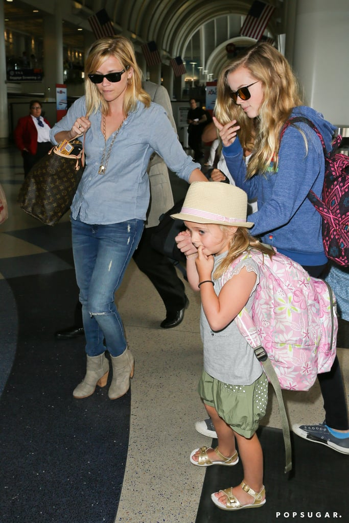 Reese Witherspoon was at LAX with her daughter, Ava Phillippe.