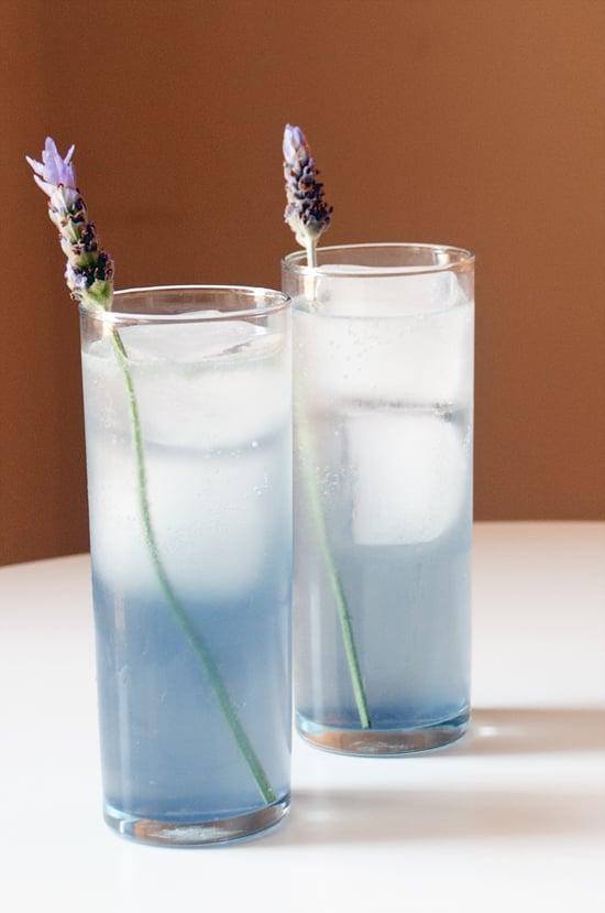 Lavender Collins Cocktail