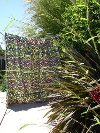 Etsy Find:  Made-to-Order Fabric Shower Curtain
