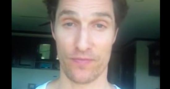 Matthew McConaughey's Secret YouTube Channel Is Amazingly Bad