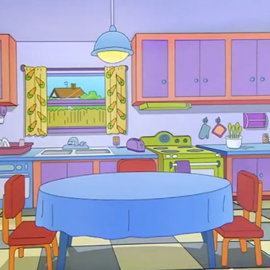 Couple Re-Creates Marge's Kitchen From The Simpsons