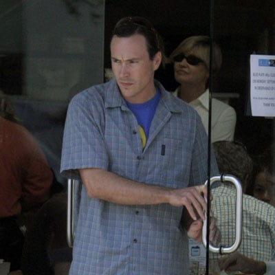 Chris Klein Out to Lunch