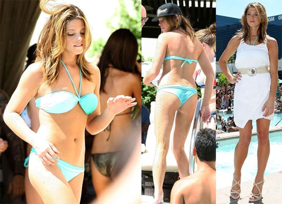 Pictures of Ashley Greene Wearing a Bikini at Wet Republic in Las Vegas