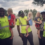 The Bond Between These Triplets and Their Garbage Men Is Like Nothing You've Ever Seen