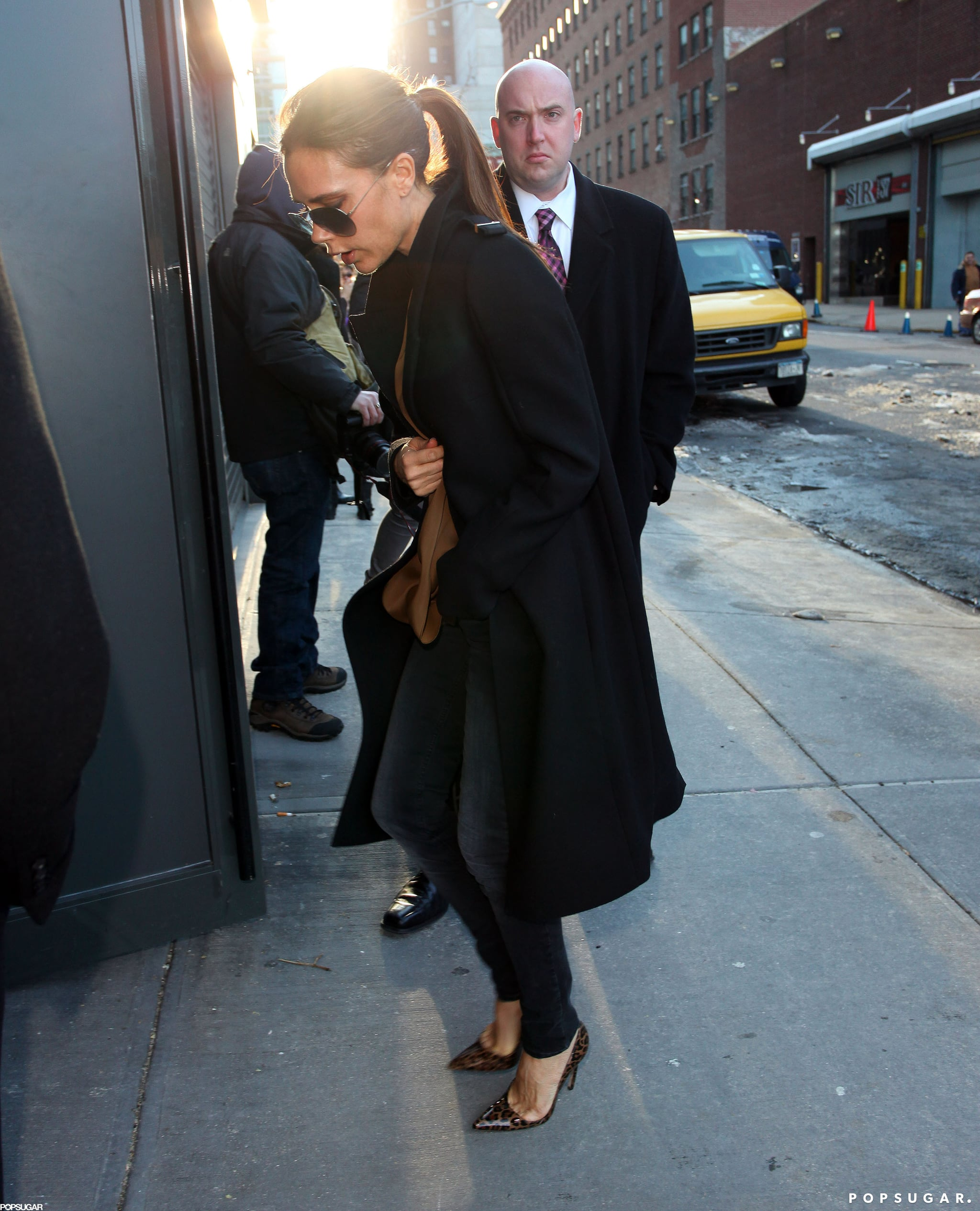 Victoria Beckham Brings Harper to Her Latest NYFW Show