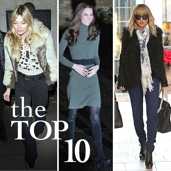 Best Celebrity Style For December 19, 2011