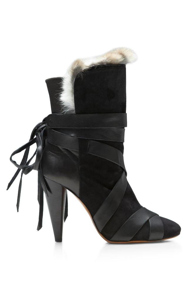 Isabel Marant fur-lined Neta boot ($1,435)
