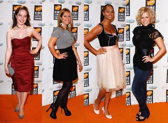 2008 Nickelodeon UK Kids' Choice Awards: Best Dressed