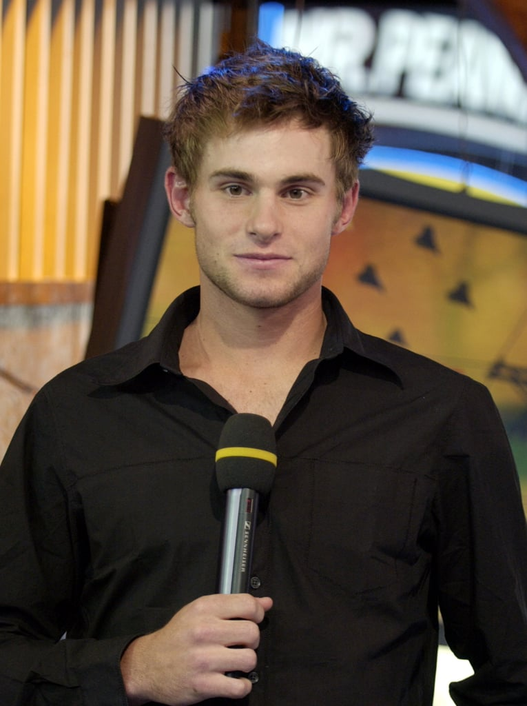 Tennis player Andy Roddick was on the show in 2003.