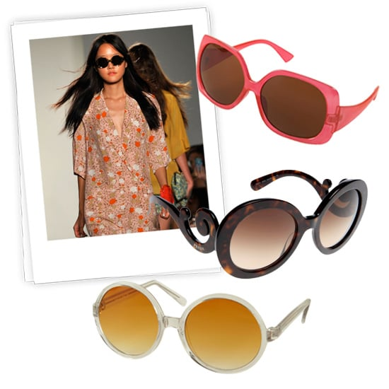 Bright Summer Sunglasses: Prada, Karen Walker, Topshop, and More 2011-07-04 03:30:11