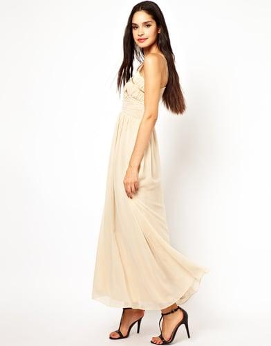 Little Mistress Strappy Maxi Dress