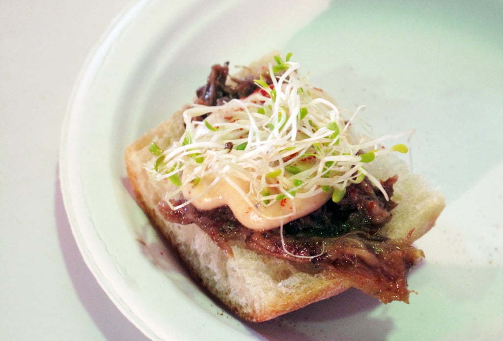 Oxtail Flatbread