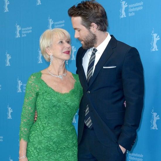 Helen Mirren Flirtant Avec des Hommes