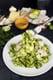 Roasted Jalapeño Lime Tilapia With Zucchini Pasta