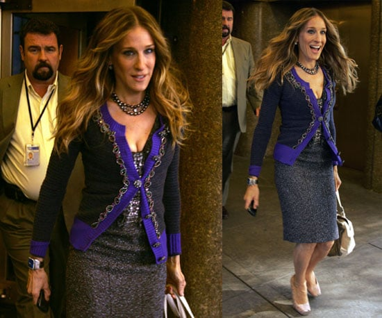 Sarah Jessica Parker Makes an Appearance on the Today Show