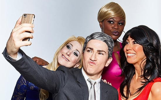 FROM EW: Watch What Happens - Live on Stage! Takes on Andy Cohen, Real Housewives and Even Anderson Cooper!