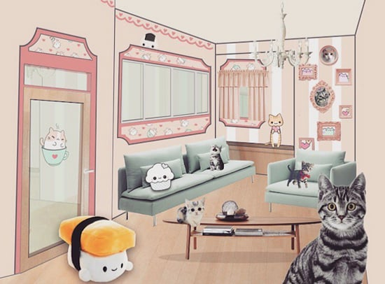 Philadelphia's Kawaii Kitty Cafe Will Be a Bastion of Cuteness